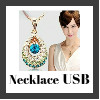 necklace usb